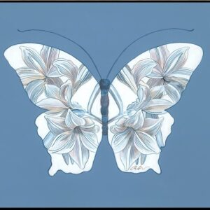 insect-yourself-blue-butterfly-art-print-by-allison-cosmos