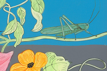 grasshopper-painting-by-allison-cosmos