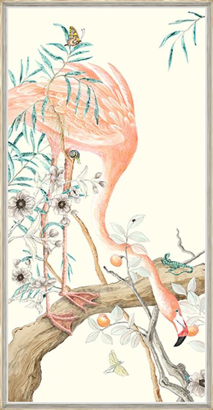 flamingo-art-print-painting-by-Allison-Cosmos