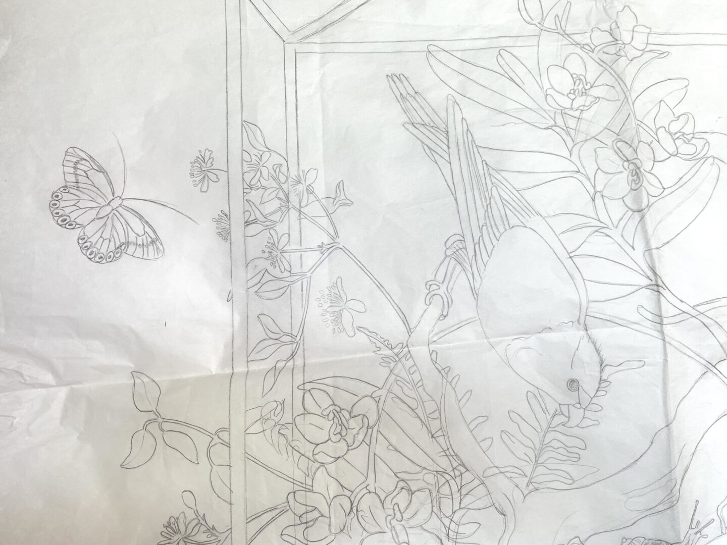 chinoiserie-bird-drawing-by-artist-allison-cosmos