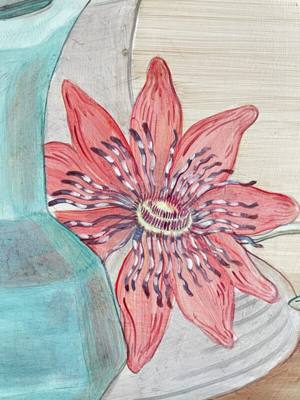 red-clematis-vine-illustration-by-allison-cosmos