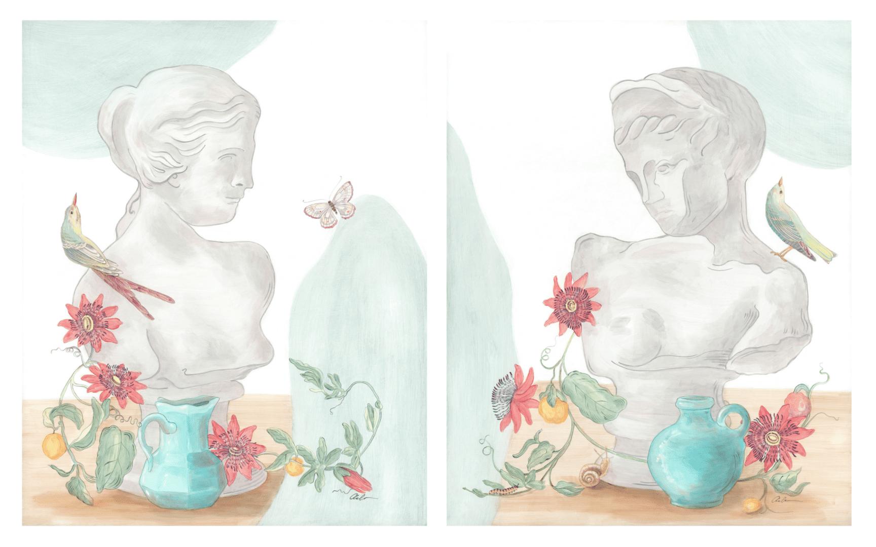 garden-statue-still-life-by-allison-cosmos