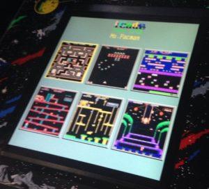 video game screens
