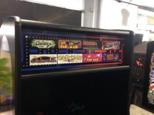 multi-game arcade machine