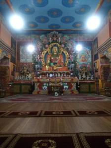Buddha in great temple