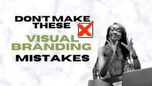 top visual branding mistakes