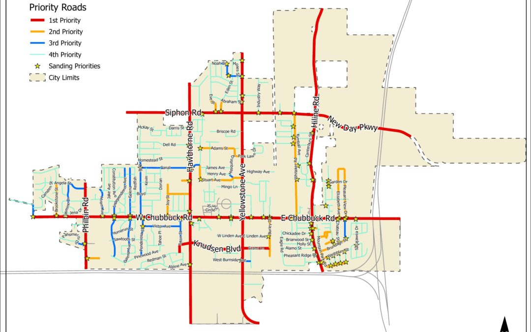 Snow Removal Priority Map