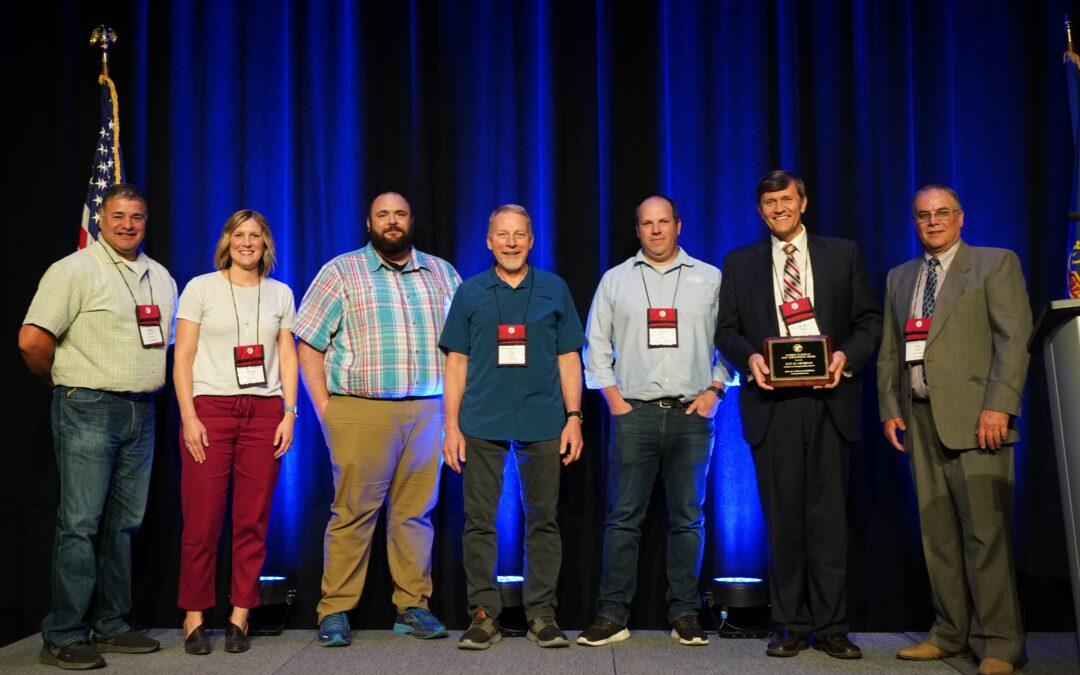 Chubbuck Receives City Achievement Award