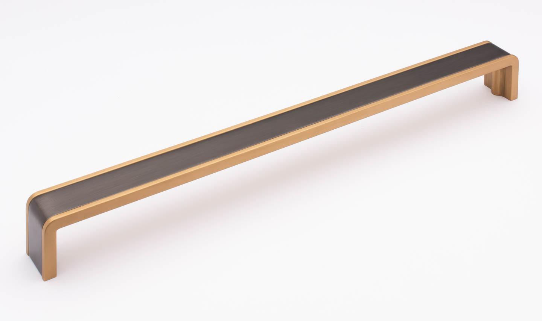 Fusion Gunmetal and Satin Brass P-2000-12-G-SB