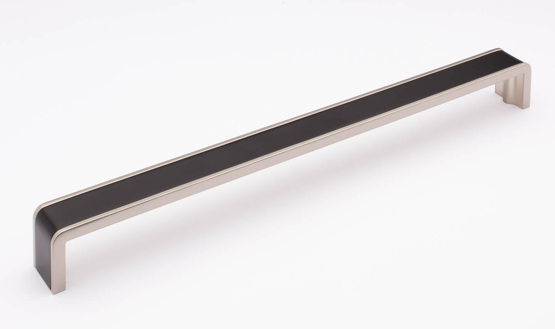 Fusion Matte Black and Satin Nickel P-2000-12-MB-SN