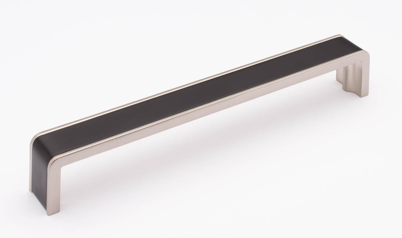 Fusion Matte Black and Satin Nickel P-2000-8-MB-SN