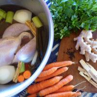Medicinal Chicken Stock