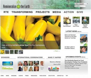 Remineralize the Earth website