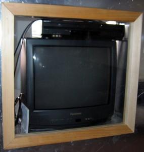 TV box closeup