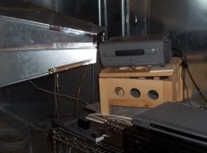 Rear projector