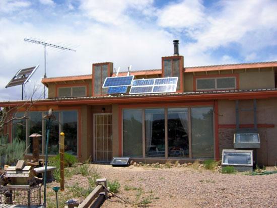 Visiting Barbara Kerr, solar cooking pioneer