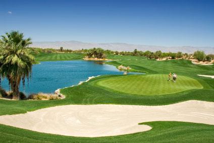 Pesticided golf course