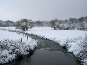 Snow River by Between a Rock at flickr