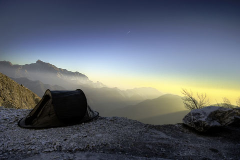 Tent living part 2