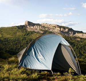 Tent by Katie Brady at flickr