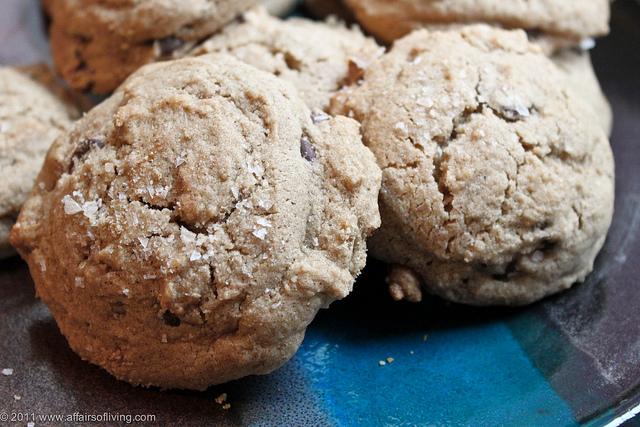 Gluten-free mesquite chocolate chip cookies