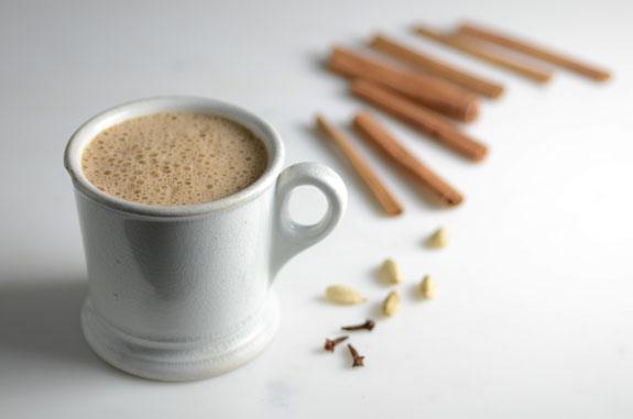 Gluten free dairy free chai latte