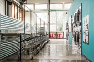 Eco-friendly laundromat in Portland, Oregon