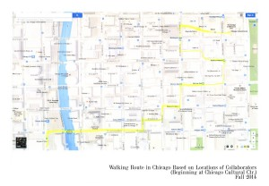 Unifying Walk route in Chicago
