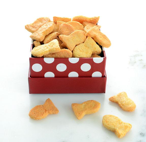Grain free goldfish crackers