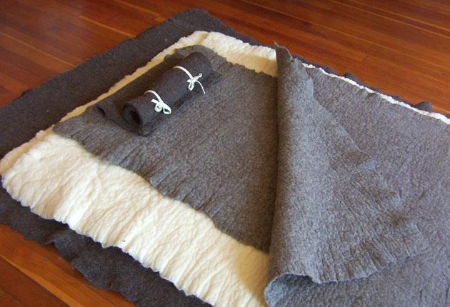 Shepherd's Dream wool bedding