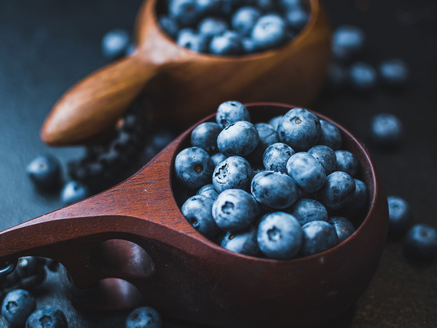 Blueberry Cacao Breakfast Smoothie