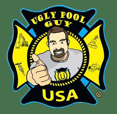 We Fix Ugly Pools Logo