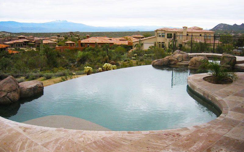 Zero Edge Pool in Arizona