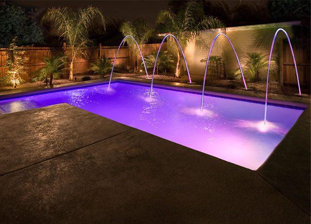 Custom Swimming Pool Water Light Feature