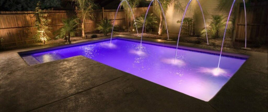 Worlds Fastest Swimming Pool Light Features