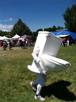 running-toilet