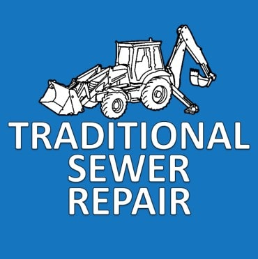 Traditional Sewer Repair Button
