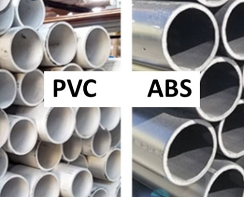 ABS and PVC piping