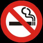 Interdiction de fumer dans le chalet