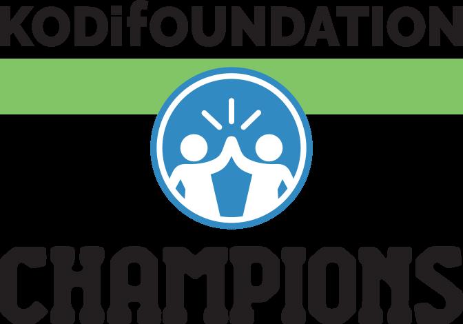 Kodi Foundation Champions