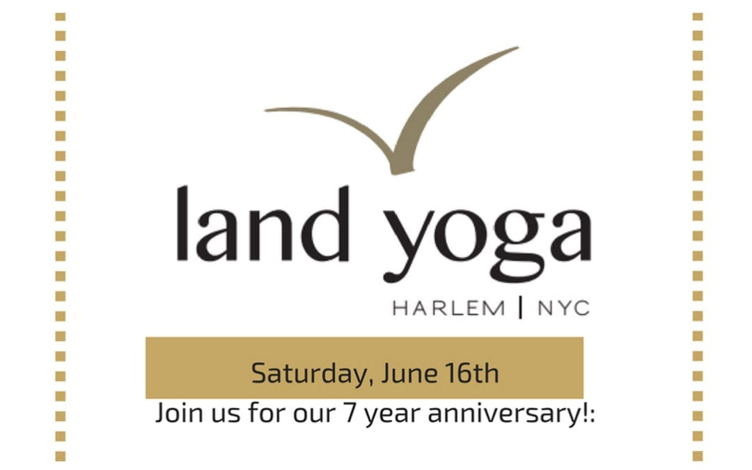 Join us for our 7 year anniversary!