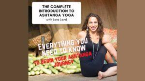 Land Yoga - INTRO TO ASHTANGA graphic