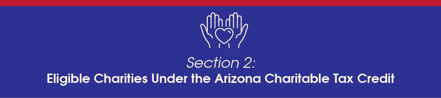 Eligible Charities under the Arizona Charitable Tax Credit