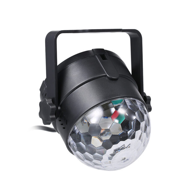 Remote Controlled RGB LED Light Voice Activated Rotating Crystal Light_1