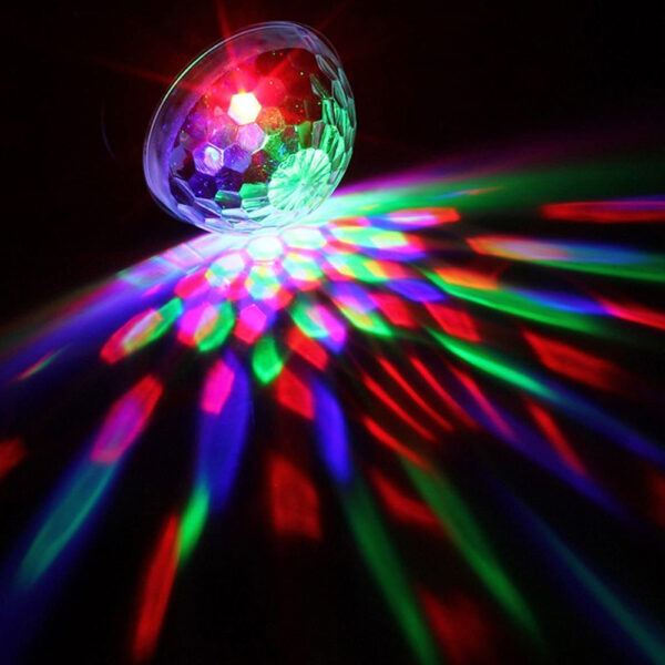 Remote Controlled RGB LED Light Voice Activated Rotating Crystal Light_2