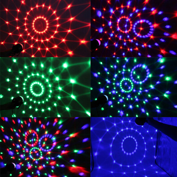 Remote Controlled RGB LED Light Voice Activated Rotating Crystal Light_6