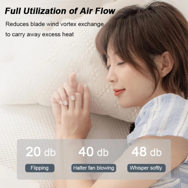 Portable Handsfree Bladeless Rechargeable Hanging Neck Fan_3