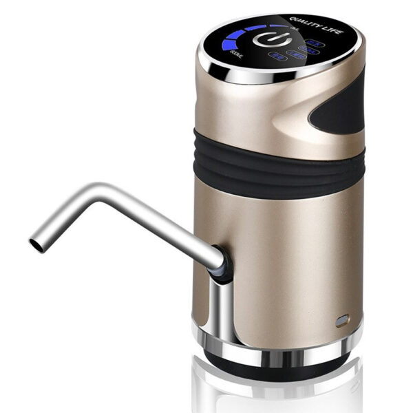 USB Charging Portable Electric Drinking Water Bottle Pump_1
