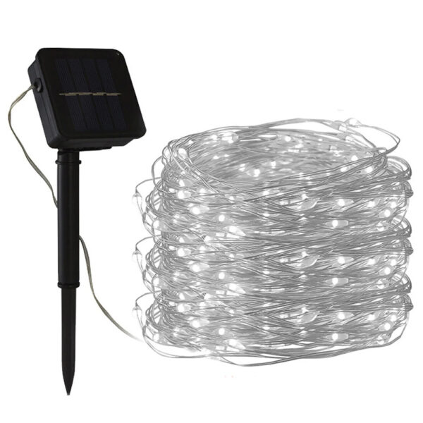 200LED Solar Powered String Fairy Light for Outdoor Decoration_9