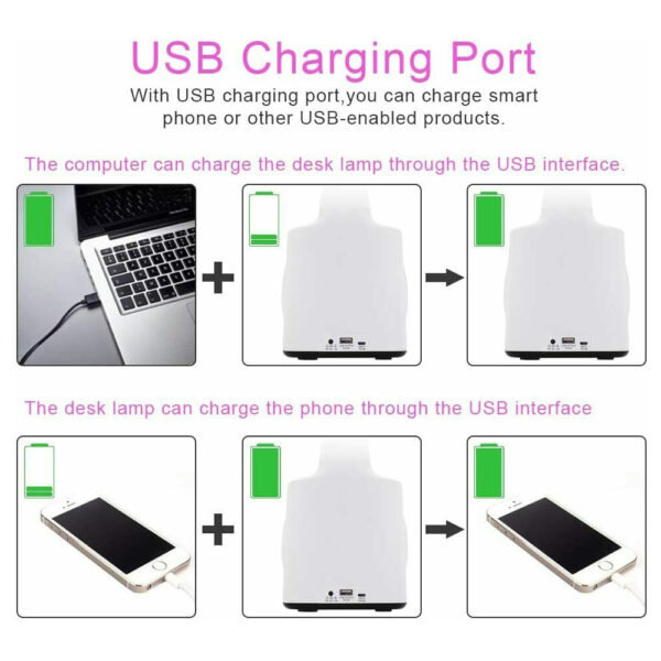 Multifunctional LED Dimmable Desk Lamp with Charging Port_8